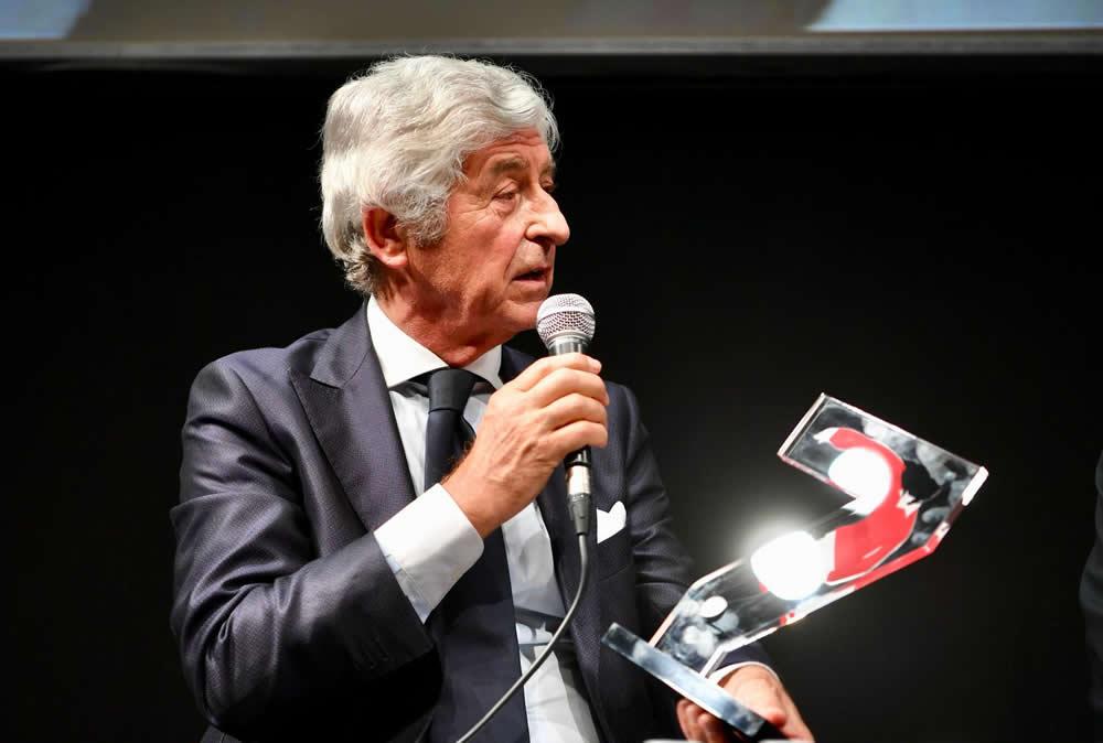 Premio Best a Gianni Rivera