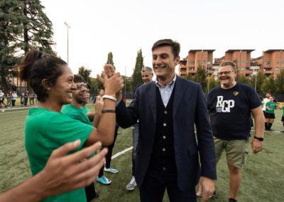 Le stelle di Inter e Milan di incontrano in oratorio 12