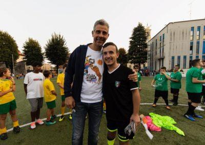 Le stelle di Inter e Milan di incontrano in oratorio 16