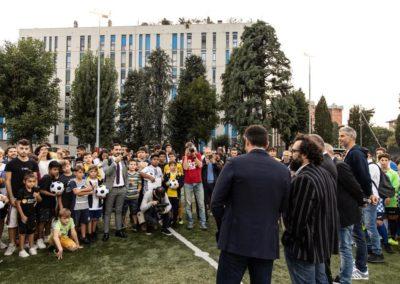 Le stelle di Inter e Milan di incontrano in oratorio 4