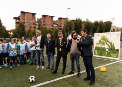 Le stelle di Inter e Milan di incontrano in oratorio 5