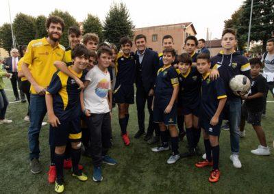 Le stelle di Inter e Milan di incontrano in oratorio 6