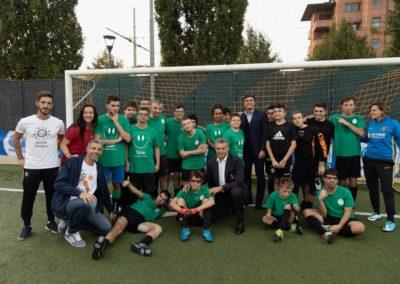 Le stelle di Inter e Milan di incontrano in oratorio 8