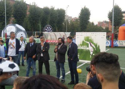 Le stelle di Inter e Milan si incontrano in oratorio