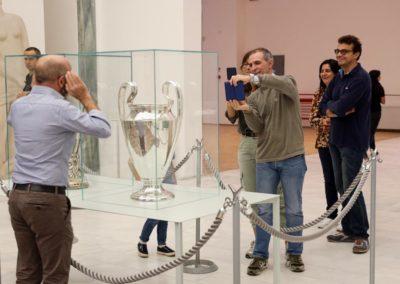 Esposizione Uefa Champions League e Europe League Cup in Triennale
